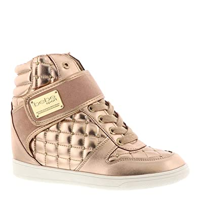 a0910b84bd1 bebe Women s Cadyna Rose Gold 6.5 B US B ...