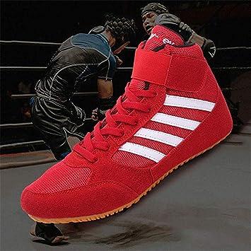 ABTSICA Chaussures De Boxe Chaussures De Lutte Légères Et
