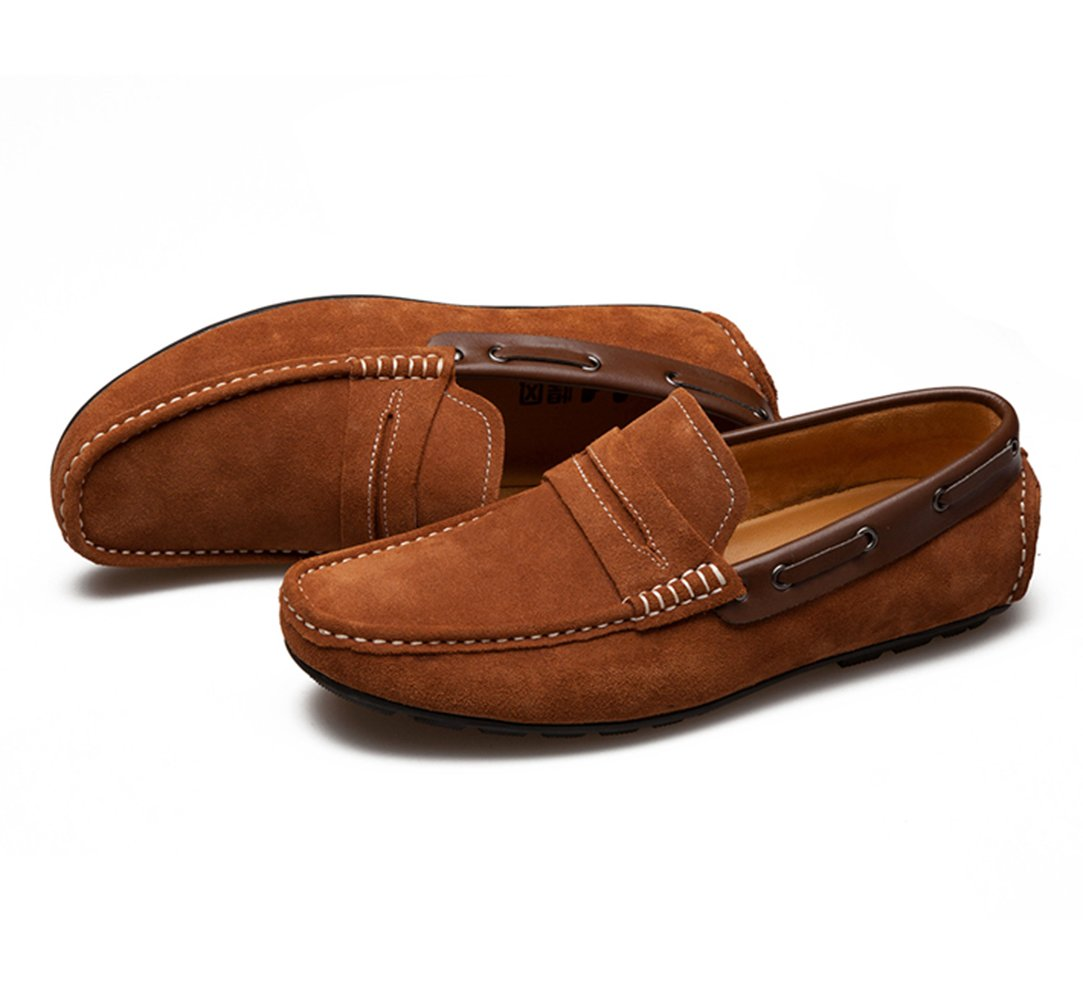 Men's Slip-On Casual Walking Shoes - Loaded with Fashion 536-41Br