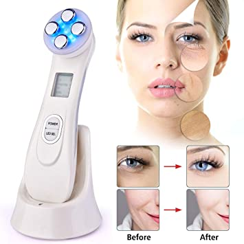 Able New Usb Facial Mesotherapy Led Photon Face Lifting Tighten Wrinkle Acne Remover Face Massager Skin Care Device Traveling Skin Care Tool