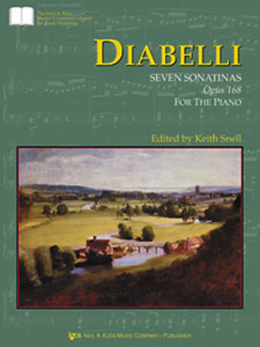 GP423 - Diabelli Seven Sonatinas, Op. 168 (The Neil A. Kjos Master Composer Library for Piano Students) PDF