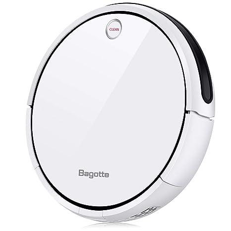 Bagotte I7 Robot Aspirador y Fregasuelos con Tanque de Agua, Aspirar, Barrer y Fregar con Navegación Inteligente, Programable, Carga Automática, para ...