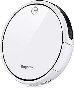 Bagotte I7 Robot aspirador de suelos, 3 en 1, sistema de limpieza, programable, recarga automática, borde magnético, apto para suelos y alfombras: Amazon.es: Hogar