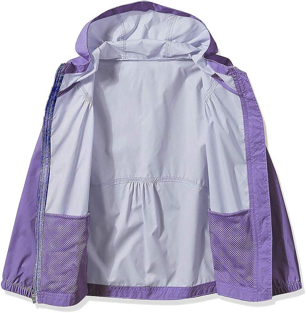 Waterproof Breathable Coat Outwear #7055 Asfixiado Youth Girls Switchback Rain Jacket