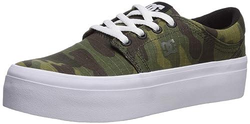 official photos classic sneakers for cheap DC Women's Trase Platform TX SE Skate Shoe