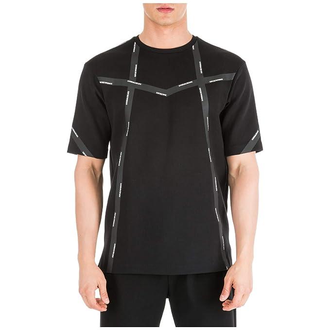 Emporio Armani Hombre Camiseta Nero L: Amazon.es: Ropa y accesorios