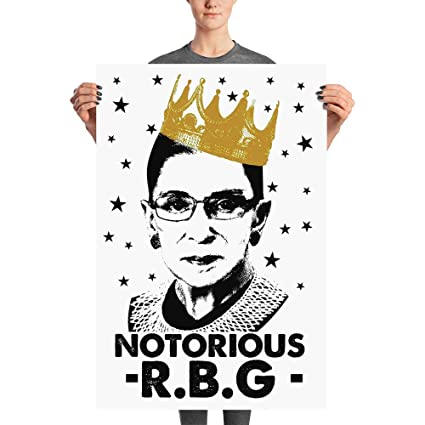 61578a9c Notorious RBG Poster Ruth Bader Ginsburg Supreme Justice Womens Feminism  Protest Girl Power Equality I Dissent
