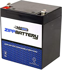 Chrome Battery 12V 4.5AH SLA Battery- Rechargeable, Replacement for Security Systems