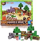 Minecraft Papercraft Overworld Deluxe Set, Over 90 Pieces