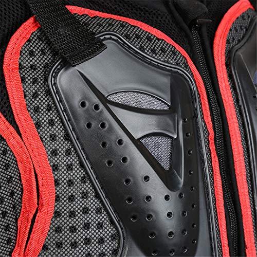 Motorradjacke Motorrad-Reitsakko Ganzkörper-Rüstung für Männer Spine Chest-Schutzausrüstung