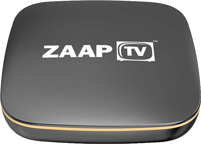 ZaapTV HD509 N IPTV Caja para Canales de árabe Turco Greek sin Contrato de suscripción sin Antena: Amazon.es: Electrónica