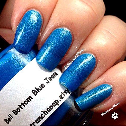 Amazon.com: Neon Blue Nail Polish - Fluorescent - \