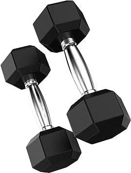 Wakauto Hanteln Set 2er Kurzhanteln Hantel 30 kg Hantelset professionell Dumbbell Gewichten