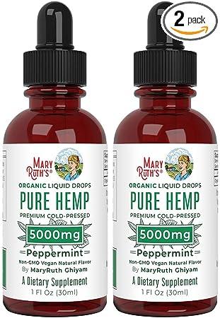 MaryRuth's Organic Vegan Pure Hemp Oil