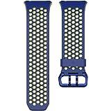 Fitbit Ionic, Cinturino Sport Unisex – Adulto, Blu, Large