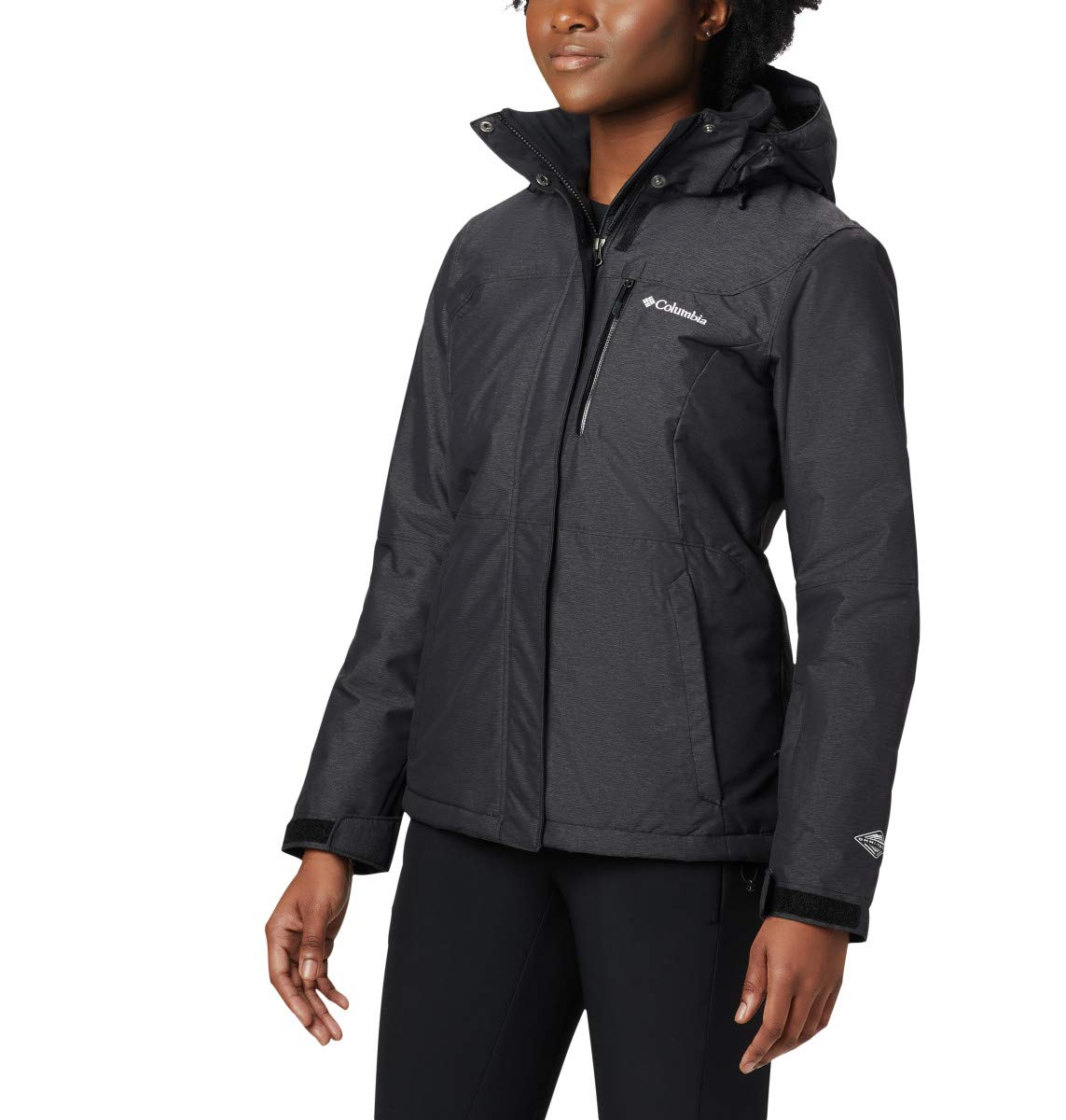 Columbia Women's Alpine Action Oh Jacket, Black, Medium by Columbia