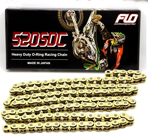 FLO MOTORSPORTS O-RING CHAIN AND SPROCKET COMBO KIT YAMAHA YZ125 / YZ250F 13T FRONT / 48 - 53 TOOTH REAR SPROCKET (49T, BLACK) by Flo Motorsports (Image #4)