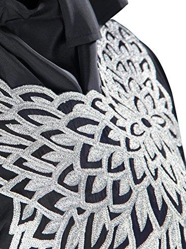 Stickerei Lange Burqa Kleid MyBatua Aimen 020 KF Art Kaftan 4Ewtwvq