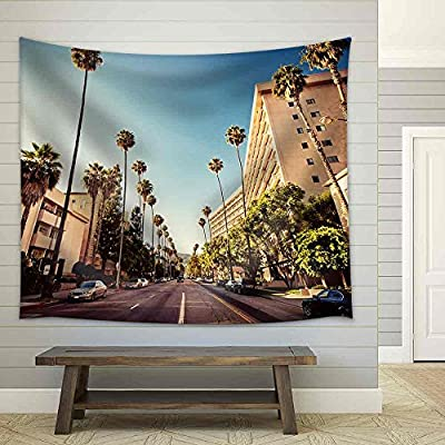 Dazzling Artistry, Palm Streets of Beverly Hills Fabric Wall, Made With Top Quality