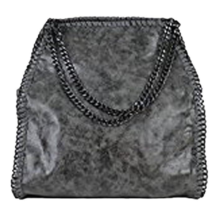 Anush Bolso de señora con cadena(Gris Dk Grau01): Amazon.es: Zapatos y complementos