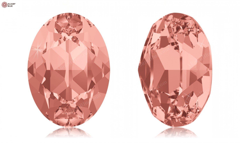 SWAROVSKI Crystals Elements Fancy Stones 4120 MM14,0X 10,0 F - Rose Peach F (262)