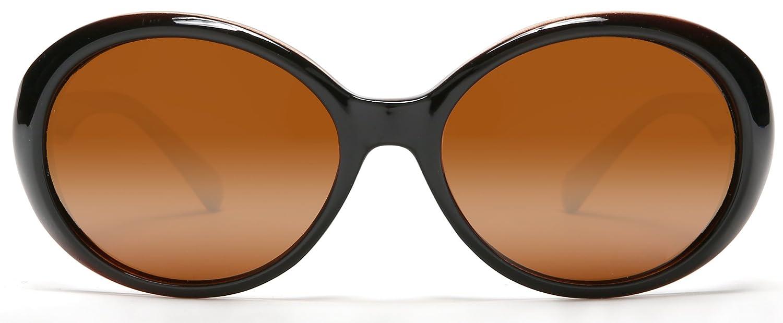 SAMBA SHADES Retro Audrey Hepburn Style Fashion Klassische polarisierte Sonnenbrille DLGK7h