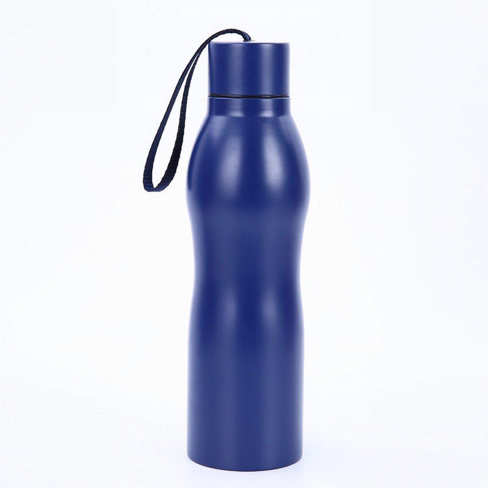 Isoliervakuumisolierte Topfportable im Freien Wasserflasche Trägt Wasserflasche Freien zur Schau,Rot 38d2ff