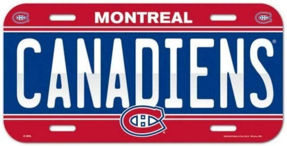 Inga Montreal Plaque dimmatriculation 15,2 x 30,5 cm