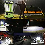 LE-600lm-Rechargeable-Camp-Lantern-LED-with-2-Detachable-Mini-Handy-Flashlight-Torch-Water-Resistant-Tent-Light-USB-Cable-Car-Charger-Included-Perfect-for-Camping-Hiking-Outdoor-UseEmergency