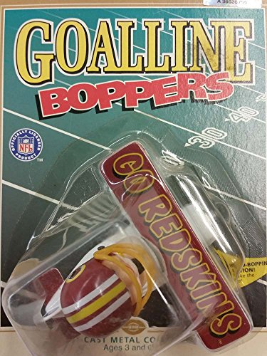 ERTL NFL Washington Redskins Goal Line Bopper Plane, New by ERTL