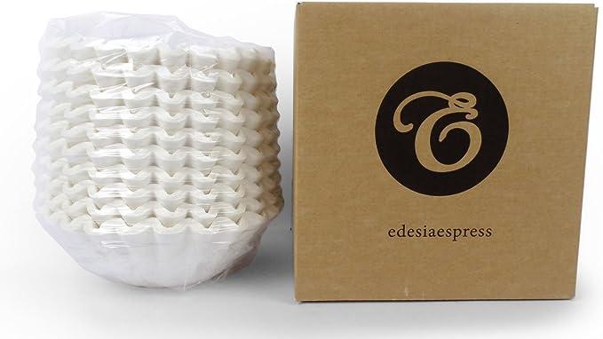 EDESIA ESPRESS - Pack de 500 filtros de papel para café - Para cafeteras de uso comercial - 90/240 mm: Amazon.es: Hogar