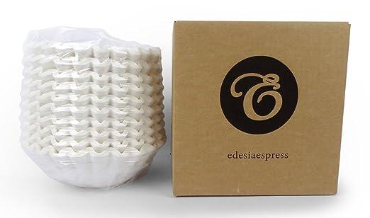 EDESIA ESPRESS - Pack de 500 filtros de papel para café - Para ...