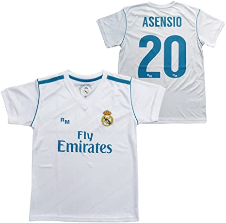 Camiseta 1ª Equipación Replica Oficial REAL MADRID CF 2017 ...