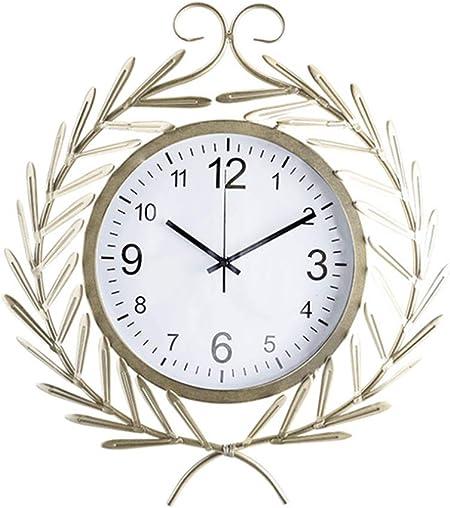 YZY Reloj De Jardín, Reloj De Pared De Jardín Al Aire Libre Silencioso Sin Tictac De Pared Exterior Adorno De Jardín A Prueba De Agua para Jardín De Jardín Patio Patio: Amazon.es: