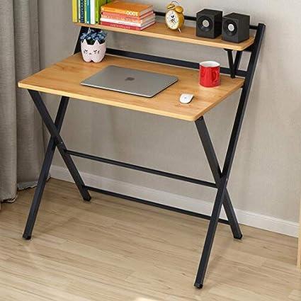 Amazon.com: ASJHK Folding Table Desktop Simple Computer ...
