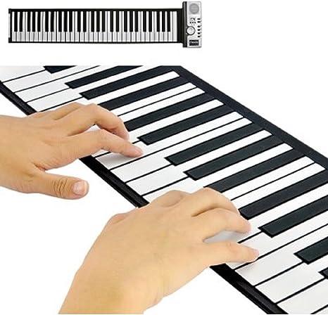 Flexible Roll Up sintetizador con teclado de Piano Keys CVWE-G414 ...