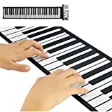 Roll Up Flexible Synthesizer Keyboard Piano with Soft Keys