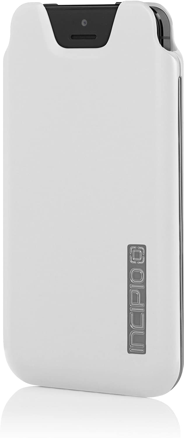 Incipio Marco Case for iPhone 5S - Retail Packaging - Optical White/Silver Chrome