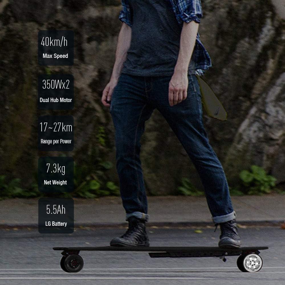 2 Autocollants Super Vitesse 40km//h,Noir Cool Bracelet de t/él/écommande,1 Sac KOOWHEEL Skateboard /Électrique kooboard 2 Roues suppl/émentaire