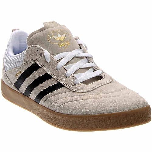 a18e68fb4480d adidas Suciu ADV (Mist Stone/White/Gold Metallic) Mens Skate Shoes
