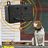DOPA Upgraded Mini Bark Control Device Outdoor Anti Barking Ultrasonic Dog Bark Control