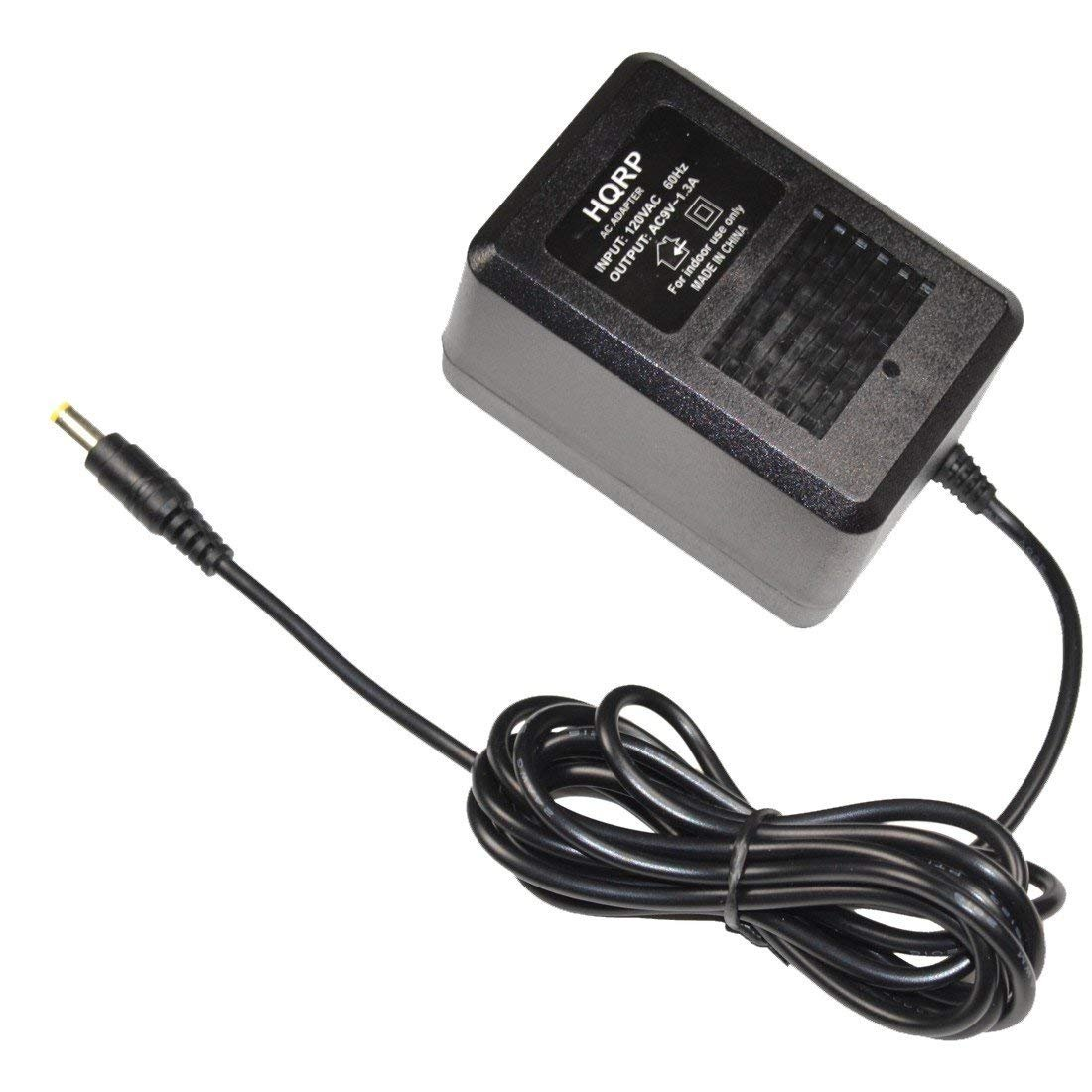 HQRP AC Adapter for DigiTech Vocalist Live 2 / Vocalist Live 3 / Vocalist Live 3D, Whammy 4 Guitar multi effects pedals, Power Supply Cord + HQRP Coaster