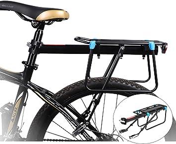 LIVELOVELAUGH MTB portaequipajes, de Aluminio de Bicicletas de ...