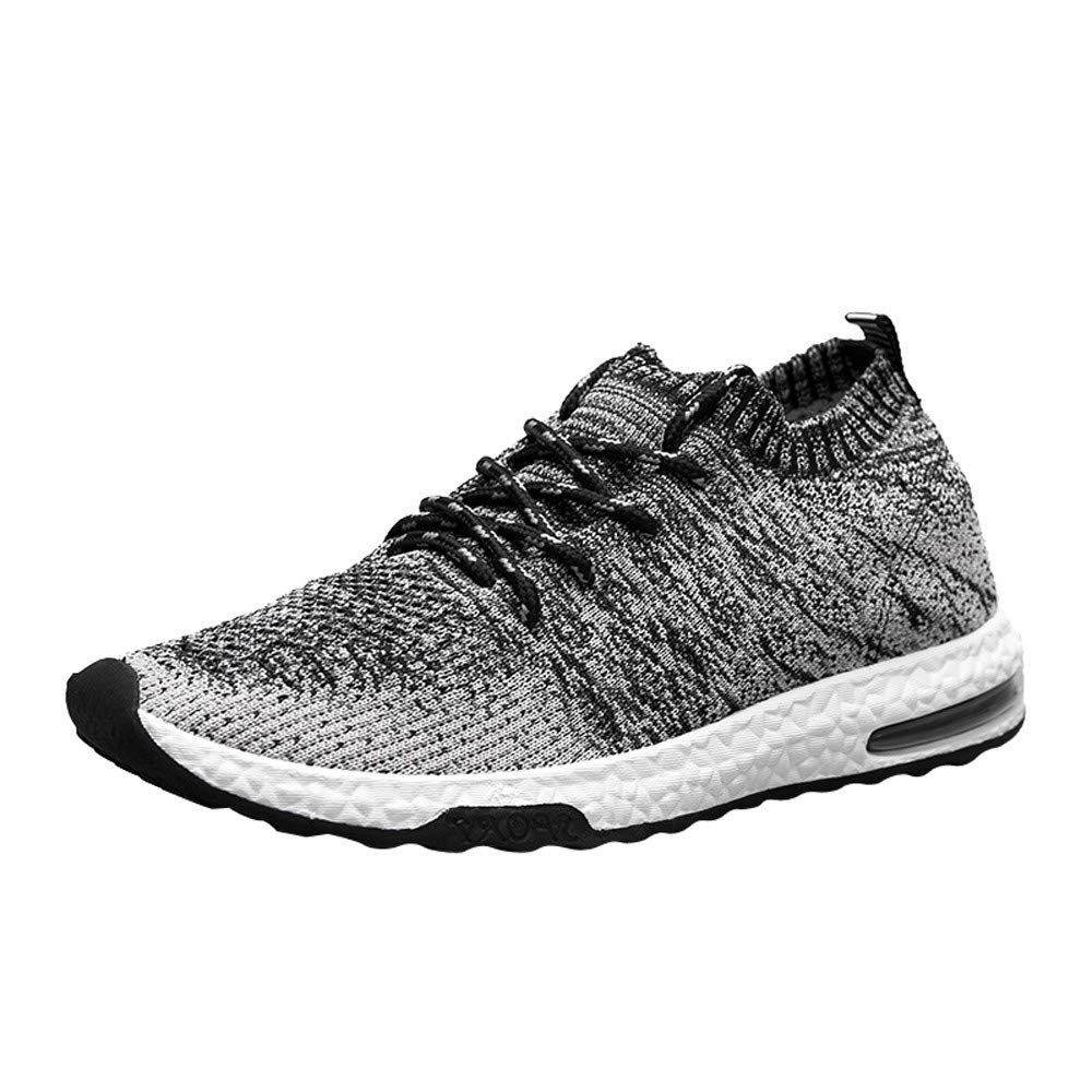 7c600906b78e2 INVERSE Sports Shoes Woven Mesh Breathable Men's Lace-Up Casual Shoes  Variety Colors and Sizes
