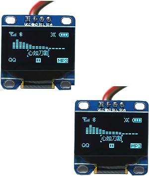 """128*64 0.96/"""" I2C IIC Serial Blue OLED LCD LED Display Module for ArduinoDSa!"""