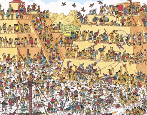 Where S Waldo Last Days Of The Aztecs Generic 12in