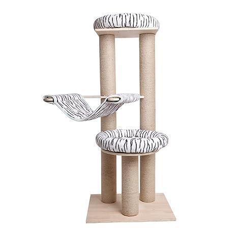 Árbol para Gatos Rascador con Una Cuerda de sisal Natural ...