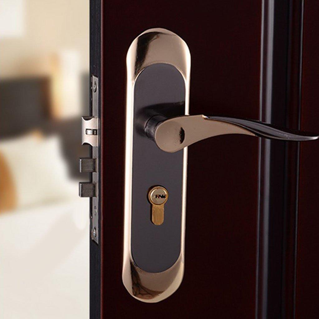 Baoblaze Aluminum Door Handle Sets Lever LATCH LOCK BEDROOM BATHROOMPRIVACY PACKS #5 by Baoblaze (Image #10)