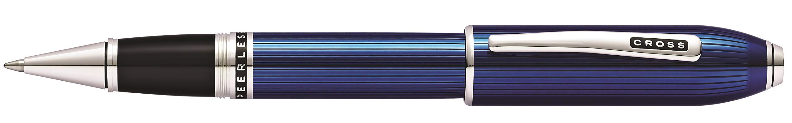 Cross Peerless Translucent Quartz Blue Selectip Rollerball Pen