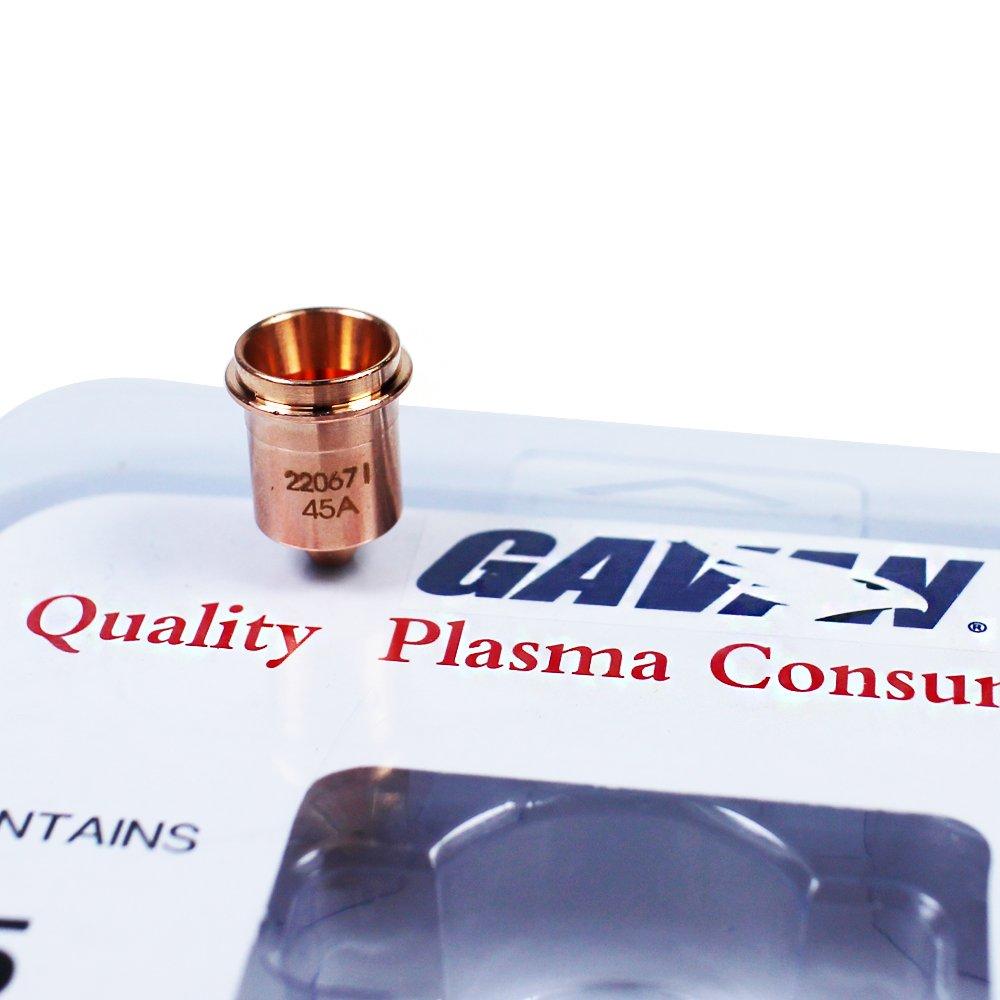 5Pcs 220669 Plasma Electrode Aftermarket GAVAN